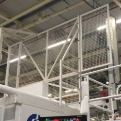 Protection machine industriel